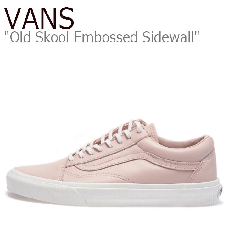 バンズ オールドスクール スニーカー VANS メンズ レディース Old Skool (Embossed Sidewall) Sepia Rose Blanc de Blanc ローズ ブランドブラン VN0A38G1ODZ1 シューズ