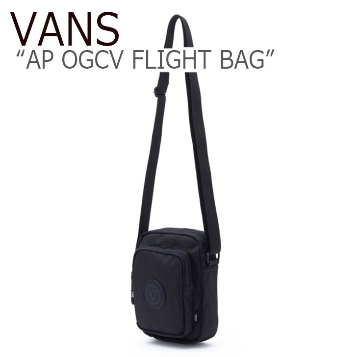 バンズ サコッシュ VANS メンズ レディース AP OGCV FLIGHT BAG フライト バッグ BLACK ブラック VN0A3QTHBLK1 バッグ