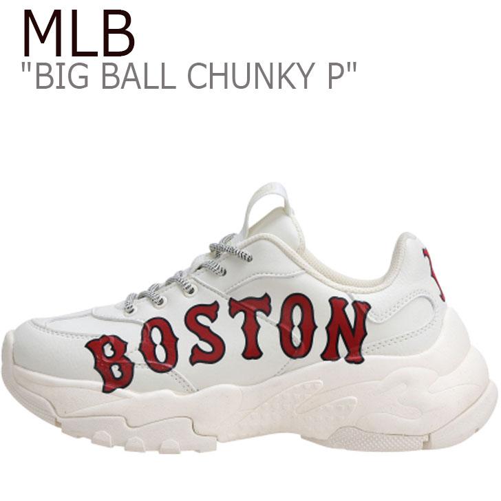エムエルビー スニーカー MLB BIG BALL CHUNKY P ビッグ ボール チャンキー P 32SHC2911-43I シューズ