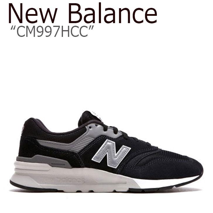 ニューバランス 997 スニーカー New Balance メンズ レディース CM997HCC New Balance997 BLACK ブラック NBPD9S146B シューズ 【中古】未使用品