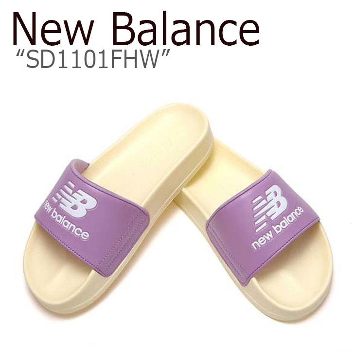 ニューバランス サンダル New Balance レディース SD1101FHW LIGHT PURPLE ライトパープル NBRJ9S103H シューズ 【中古】未使用品
