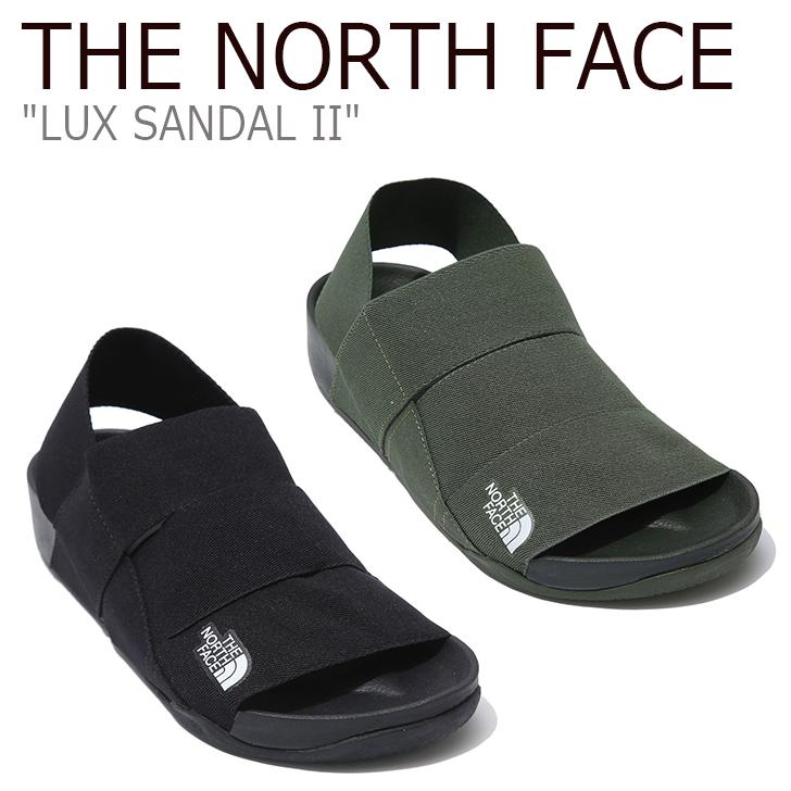 ノースフェイス サンダル THE NORTH FACE メンズ レディース LUX SANDAL II ラックス サンダル2 BLACK KHAKI ブラック カーキ NS98K05B/C NS98J05B シューズ 【中古】未使用品
