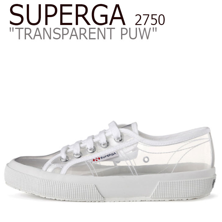 スペルガ スニーカー SUPERGA レディース 2750 TRANSPARENT PUW 2750 トランスペアレント PUW WHITE ホワイト S00DGM0 シューズ