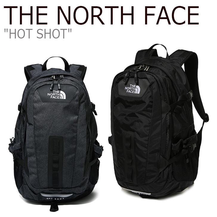 ノースフェイス バックパック THE NORTH FACE メンズ レディース HOT SHOT ホットショット デイパック DARK GRAY BLACK ダークグレー ブラック NM2DK05A/B NM2DK56A/B NM2DL05A バッグ 【中古】未使用品