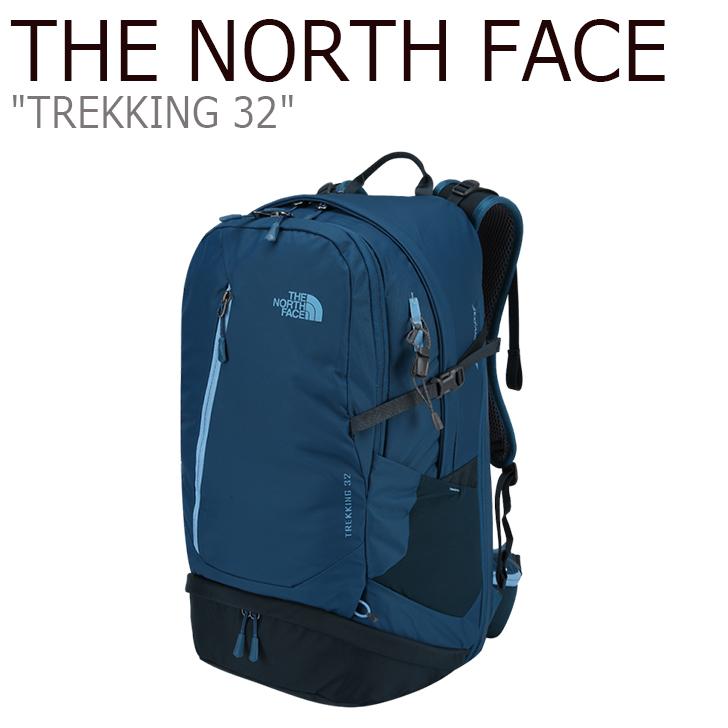 ノースフェイス バックパック THE NORTH FACE メンズ レディース TREKKING 32 トレッキング32 リュック 32リットル NAVY ネイビー NM2SI51B バッグ 【中古】未使用品