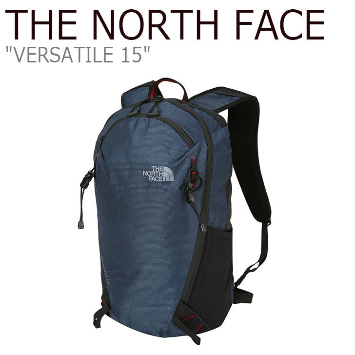 ノースフェイス バックパック THE NORTH FACE メンズ レディース VERSATILE 15 バーサトル15 リュック 15リットル NAVY ネイビー NM2SJ01B バッグ 【中古】未使用品