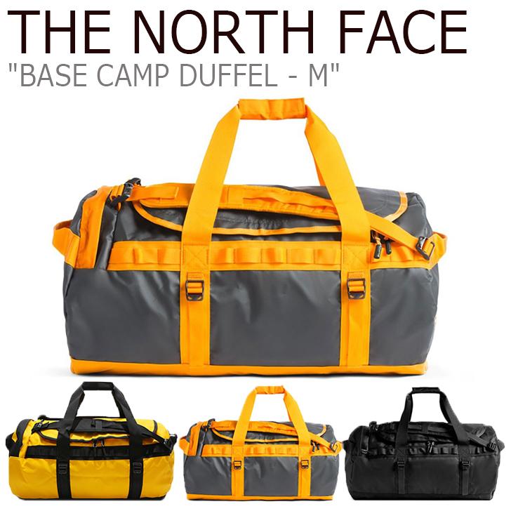 ノースフェイス ボストンバッグ THE NORTH FACE メンズ レディース BASE CAMP DUFFEL-M ベースキャンプ ダッフルM 69リットル GOLD GRAY BLACK ゴールド グレー ブラック NN2FK13A/B/C バッグ 【中古】未使用品