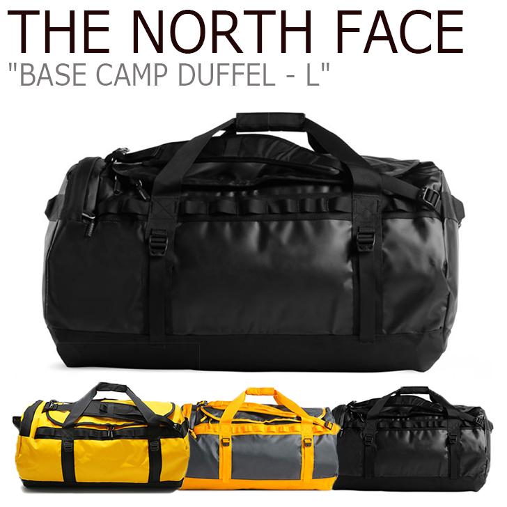 ノースフェイス ボストンバッグ THE NORTH FACE メンズ レディース BASE CAMP DUFFEL-L ベースキャンプ ダッフルL 95リットル GOLD GRAY BLACK ゴールド グレー ブラック NN2FK14A/B/C バッグ 【中古】未使用品