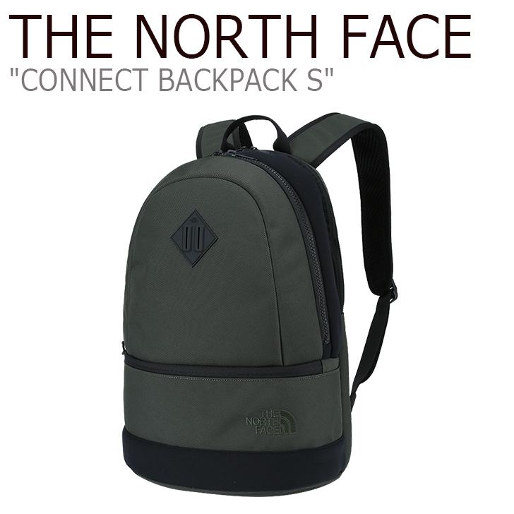 ノースフェイス バックパック THE NORTH FACE メンズ レディース CONNECT BACKPACK S コネクト バック パック S リュック KHAKI カーキ NOM2DH60 バッグ 【中古】未使用品
