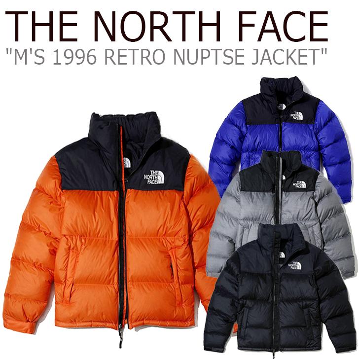 ノースフェイス ダウンジャケット THE NORTH FACE メンズ M'S 1996 RETRO NUPTSE JACKET 1996 レトロ ヌプシ ジャケット 全4色 NJ1DJ68A NJ1DJ58C NJ1DJ58D NJ1DK50A グースダウン ウェア 【中古】未使用品
