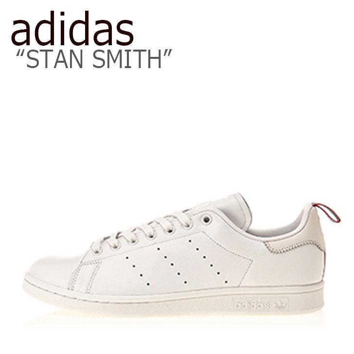 アディダス スタンスミス スニーカー adidas メンズ STAN SMITH スタンスミス WHITE ホワイト BD7433 シューズ 【中古】未使用品