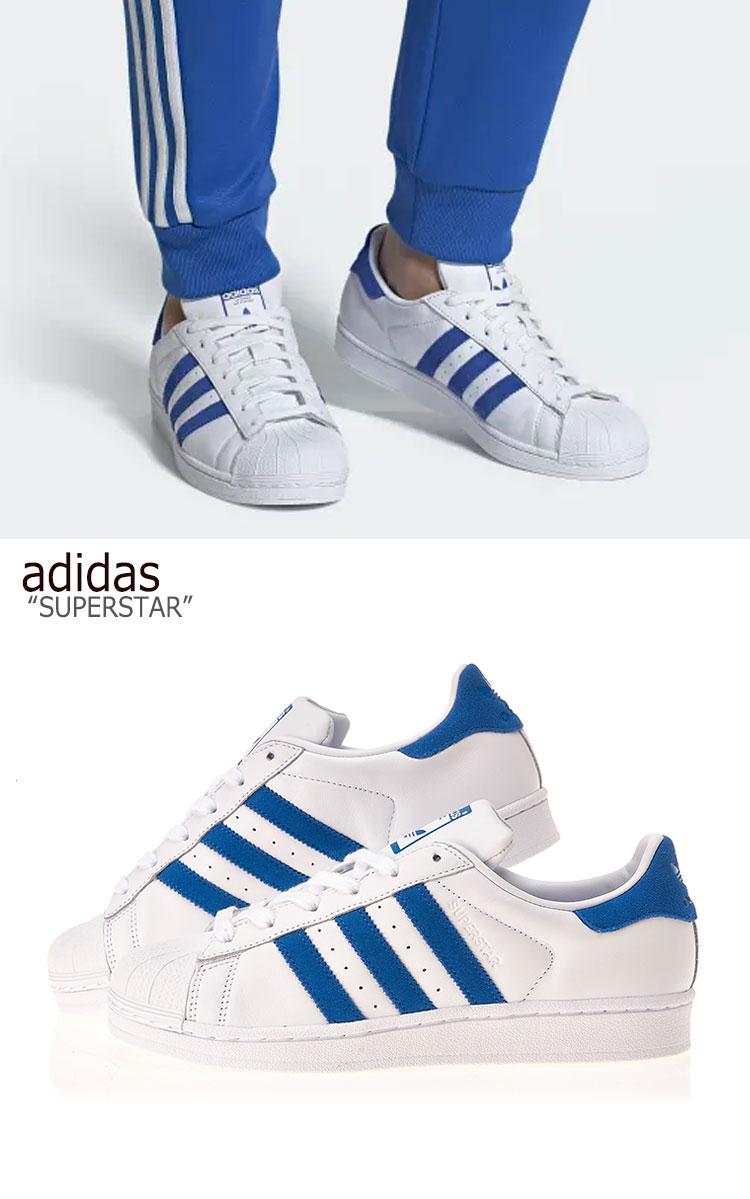 adidas superstar blu e bianche