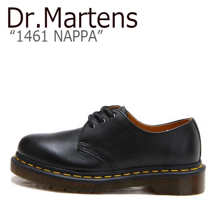 ドクターマーチン 3ホール Dr.Martens メンズ レディース 1461 NAPPA ナッパ BLACK ブラック 11838001 シューズ 【中古】未使用品