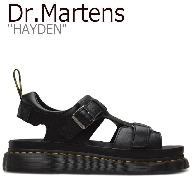 ドクターマーチン サンダル Dr.Martens メンズ レディース HAYDEN ハイデン BLACK ブラック 24625001 シューズ 【中古】未使用品
