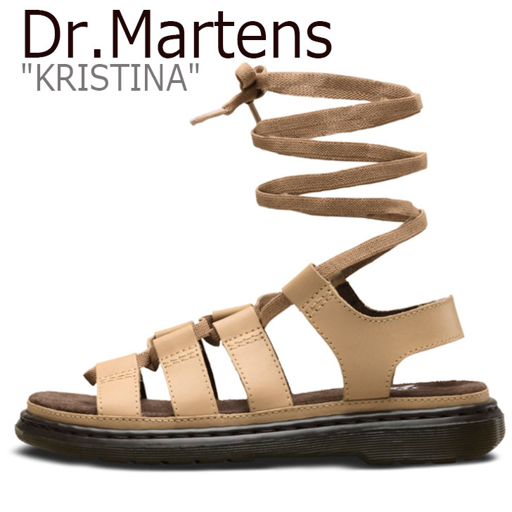 ドクターマーチン サンダル Dr.Martens レディース KRISTINA クリスティーナ BEIGE ベージュ 24676120 シューズ 【中古】未使用品