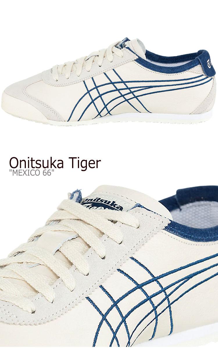 オニツカタイガー メキシコ66 スニーカー Onitsuka Tiger メンズ レディース MEXICO 66 メキシコ 66 BIRCH バーチ MIDNIGHT BLUE ミッドナイト ブルー 1183A349 200 シューズBCorxdeW