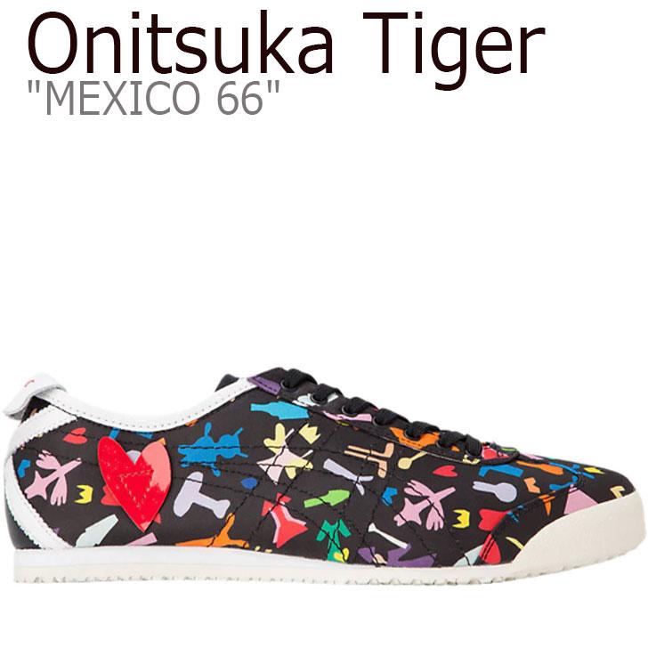 オニツカタイガー メキシコ66 スニーカー Onitsuka Tiger メンズ レディース MEXICO 66 KANTA&KAEDE メキシコ 66 かんた&かえで BLACK ブラック 1183A472-001 シューズ