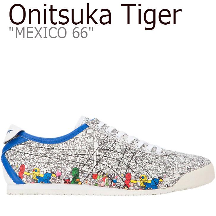 オニツカタイガー メキシコ66 スニーカー Onitsuka Tiger メンズ レディース MEXICO 66 KANTA&KAEDE メキシコ 66 かんた&かえで WHITE ホワイト 1183A472-100 シューズ