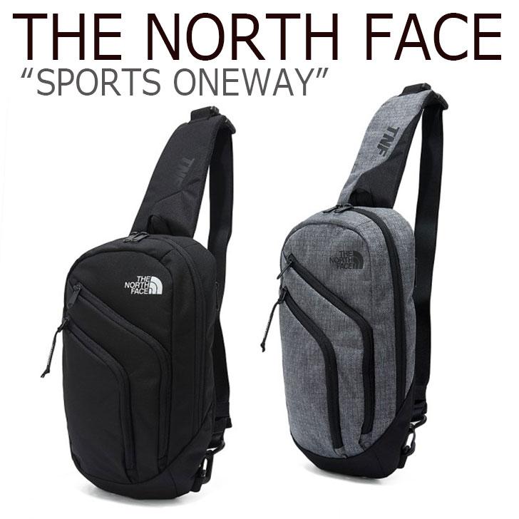 ノースフェイス ボディバッグ THE NORTH FACE メンズ レディース SPORTS ONEWAY スポーツ ワンウェイ BLACK DARK GRAY ブラック ダークグレー NN2PK57A/B バッグ 【中古】未使用品