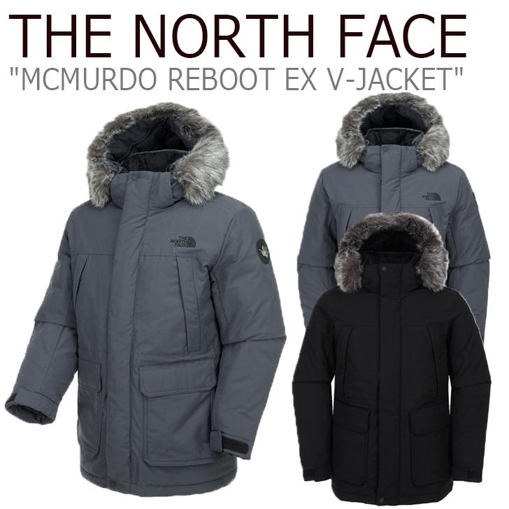 ノースフェイス ジャケット THE NORTH FACE メンズ レディース MCMURDO REBOOT EX V-JACKET マクマード リブートEX V-ジャケット BLACK ブラック GRAY グレー NJ3NK55A/B ウェア 【中古】未使用品