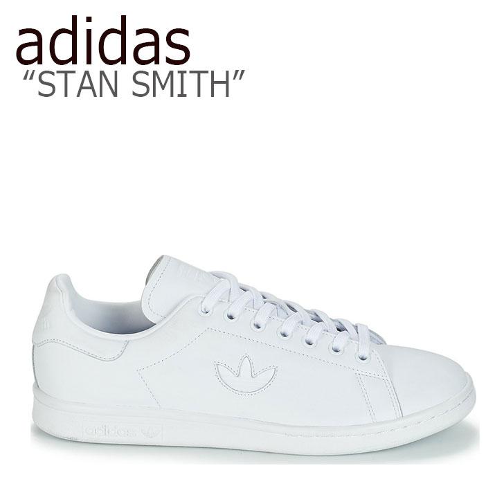 アディダス スタンスミス スニーカー adidas メンズ レディース STAN SMITH スタン スミス WHITE ホワイト BD7451 シューズ 【中古】未使用品
