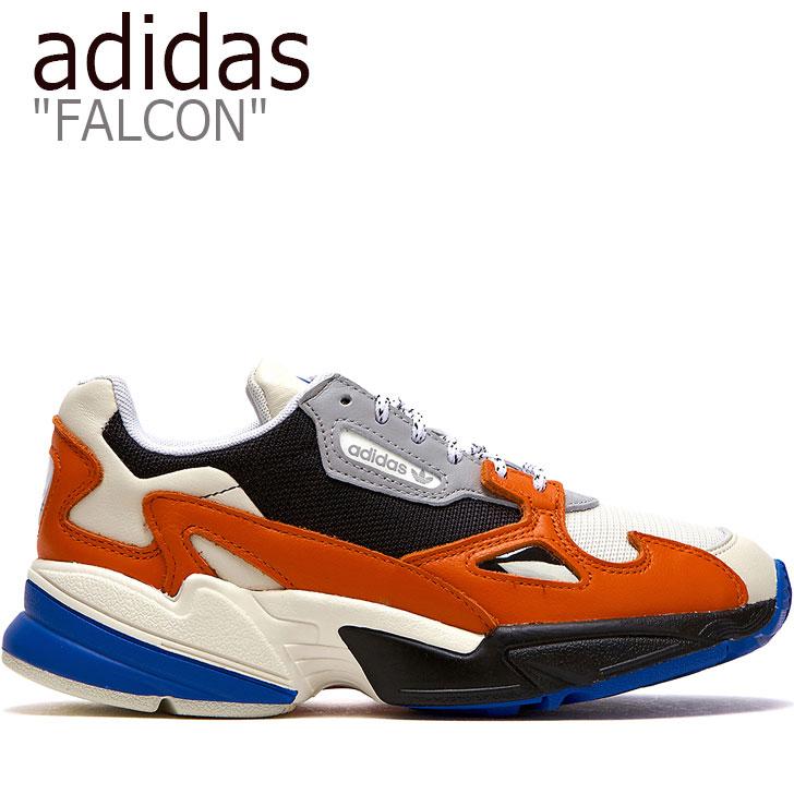 アディダス ファルコン スニーカー adidas メンズ レディース FALCON ファルコン ダッドシューズ ORANGE オレンジ WHITE ホワイト BLUE ブルー EG9934 FLADAA3U16 シューズ 【中古】未使用品