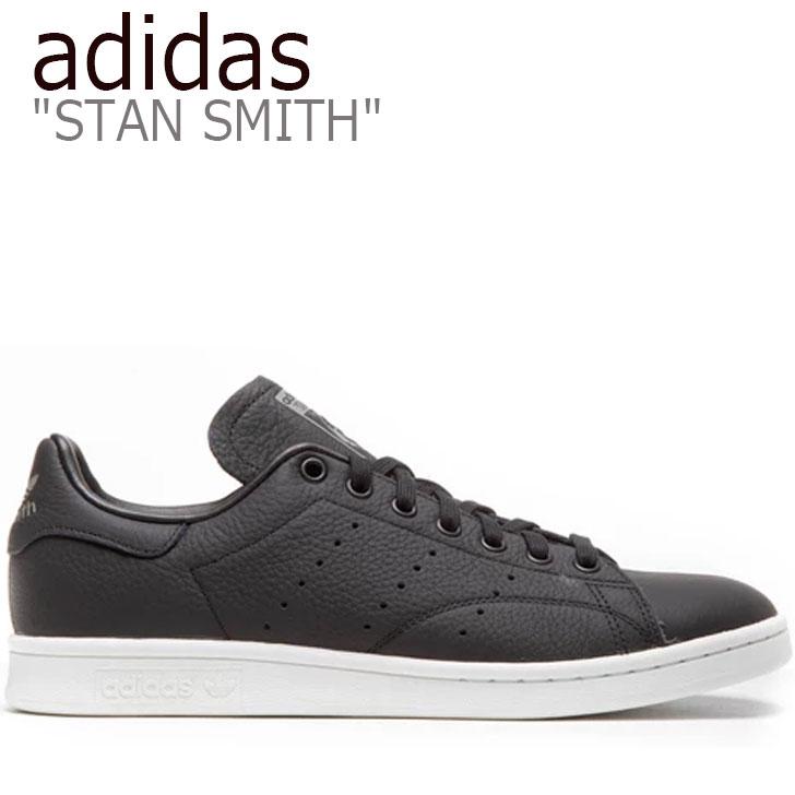 アディダス スタンスミス スニーカー adidas メンズ STAN SMITH スタン スミス BLACK ブラック F34072 シューズ 【中古】未使用品