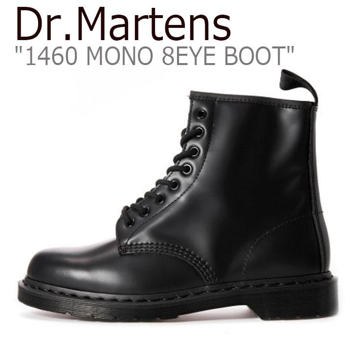 ドクターマーチン スニーカー Dr.Martens メンズ レディース 1460 MONO 8EYE BOOT モノ 8ホール ブーツ BLACK ブラック 14353001 シューズ 【中古】未使用品