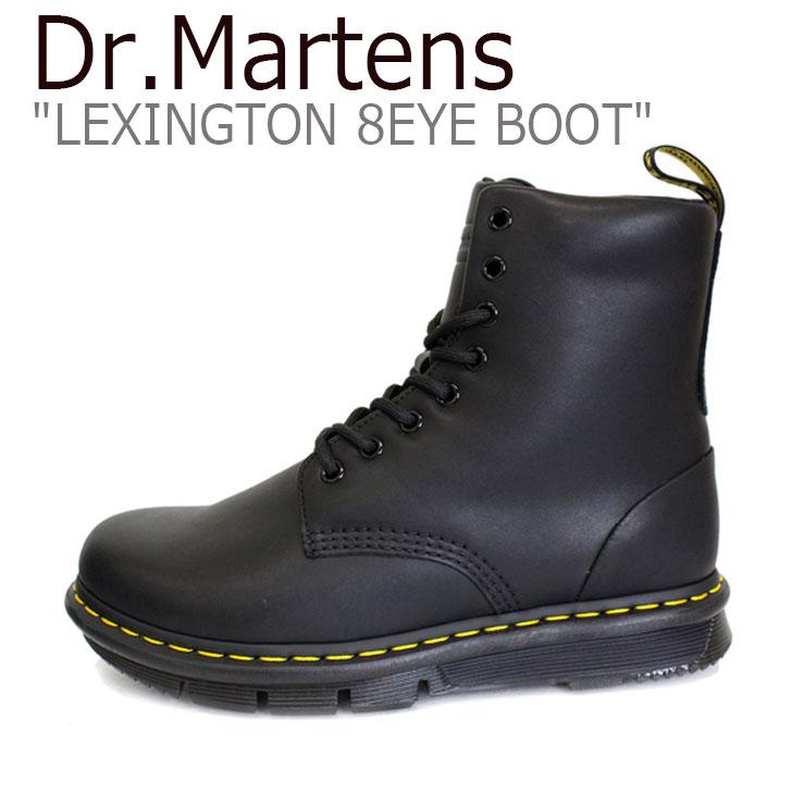 ドクターマーチン スニーカー Dr.Martens メンズ レディース LEXINGTON 8EYE BOOT レキシントン 8ホール ブーツ BLACK ブラック 24144001 シューズ 【中古】未使用品