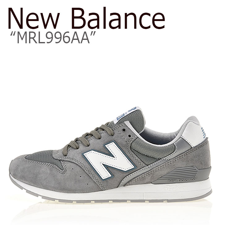 ニューバランス 996 スニーカー New Balance メンズ レディース MRL 996 AA New Balance996 GREY グレー MRL996AA シューズ 【中古】未使用品