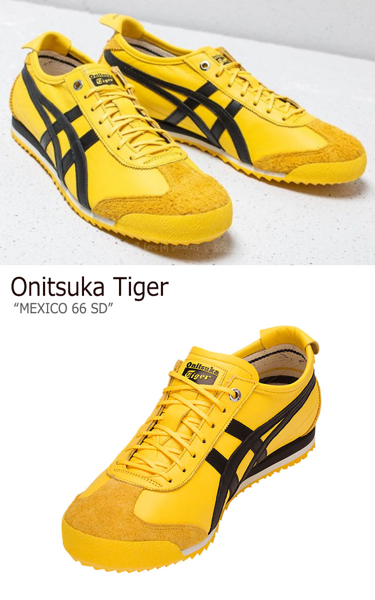 onitsuka tiger mexico 66 sd yellow black uruguay vs mexico