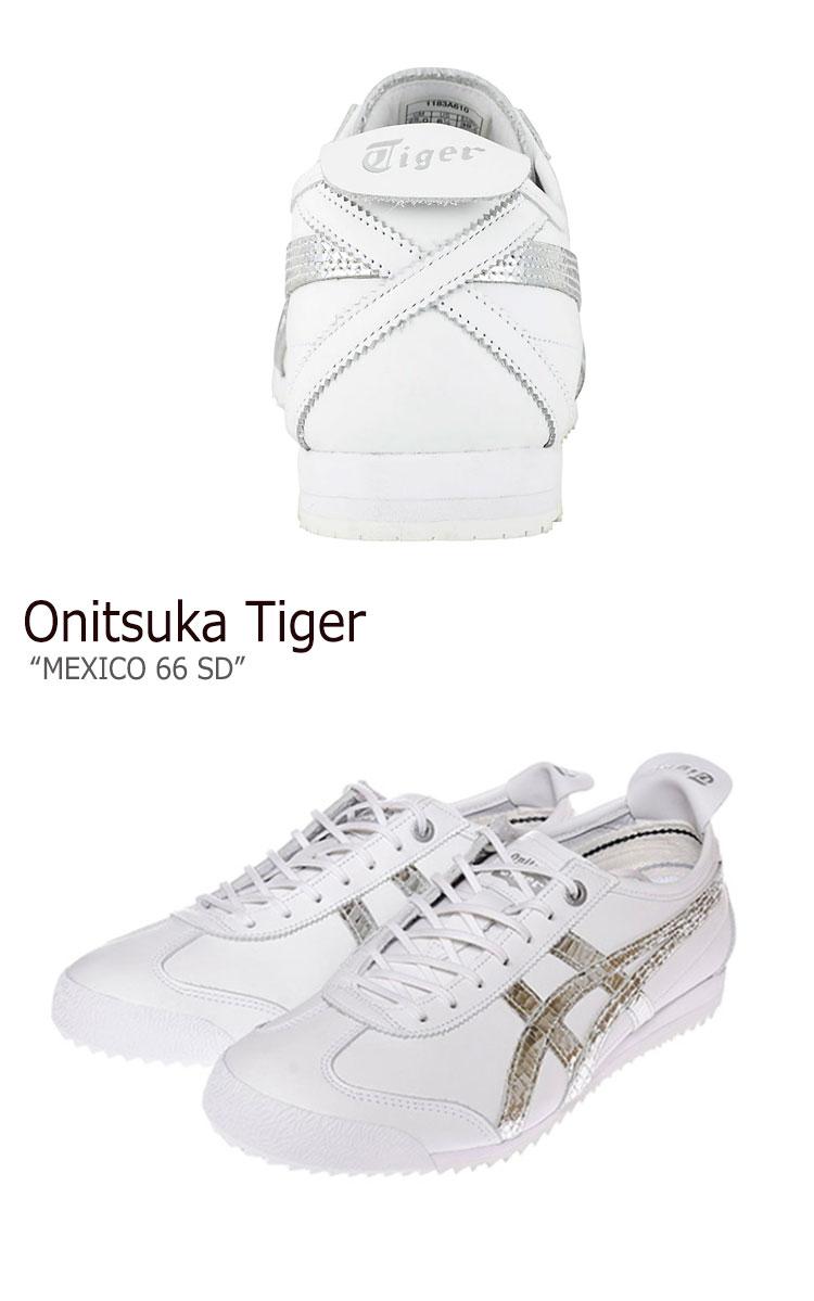onitsuka tiger mexico 66 sd silver 100