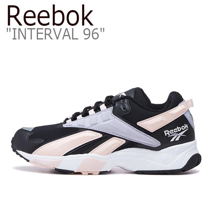 リーボック スニーカー REEBOK メンズ レディース INTERVAL 96 インターバル96 BLACK PINK ブラック ピンク FV7474 シューズ