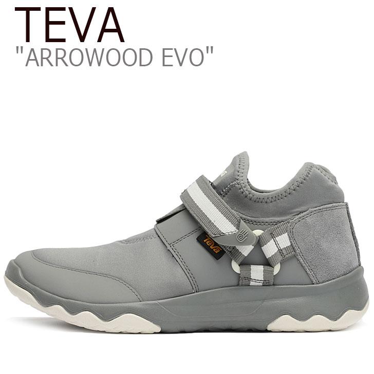 テバ スニーカー TEVA メンズ ARROWOOD EVO アローウッド EVO GRAY グレー 1015239-GREY シューズ