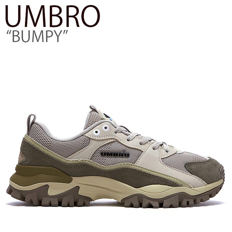 アンブロ スニーカー UMBRO メンズ レディース BUMPY バンピー ダッドシューズ BEIGE ベージュ FLUMAA1U02 シューズ