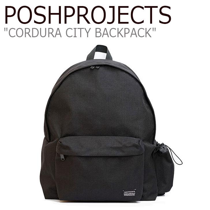 ポッシュプロジェクト バックパック POSHPROJECTS メンズ レディース CORDURA CITY BACKPACK コーデュラ シティ バックパック BLACK ブラック F117 C101 バッグ
