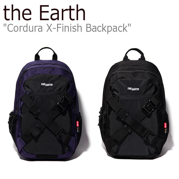 ジアース リュック the Earth メンズ レディース CORDURA X-FINISH BACKPACK コーデュラ X-フィニッシュ バックパック BLACK ブラック PURPLE パープル P00000XX/Y バッグ