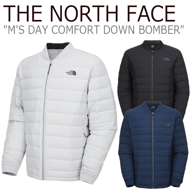 ノースフェイス ダウン THE NORTH FACE メンズ M'S DAY COMFORT DOWN BOMBER デー コンフォート ダウンボンバー 全3色 NJ1DL00A/B/C ウェア 【中古】未使用品
