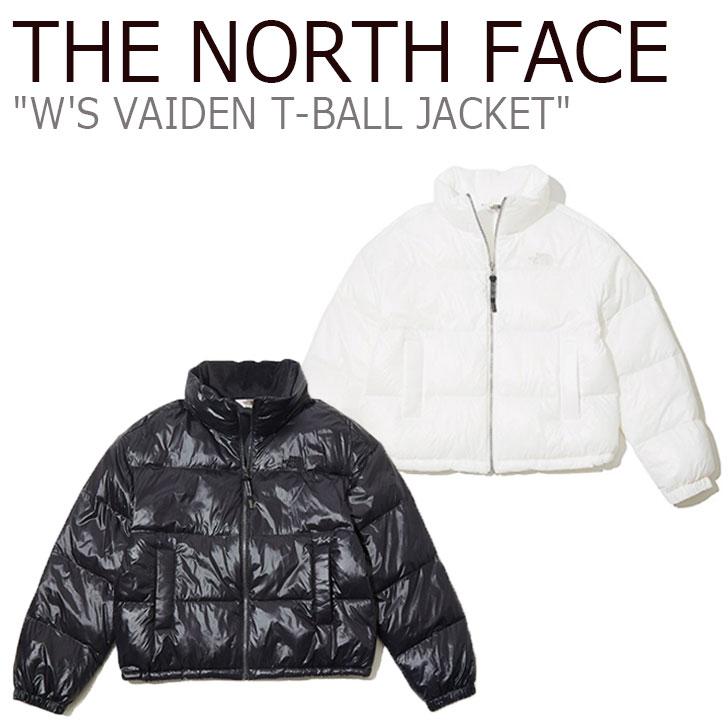ノースフェイス ジャケット THE NORTH FACE レディース W'S VAIDEN T-BALL JACKET ヴァイデン ティーボール ジャケット BLACK ブラック IVORY アイボリー NJ3NK82J/K ウェア 【中古】未使用品