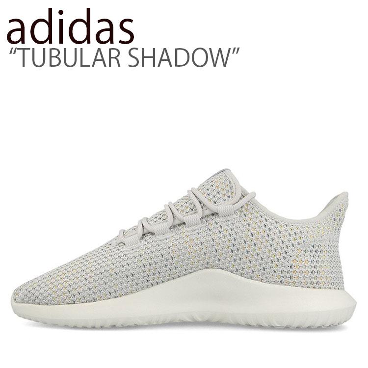 アディダス スニーカー adidas メンズ レディース TUBULAR SHADOW チューブラー シャドウ GRAY グレー B37714 シューズ 【中古】未使用品