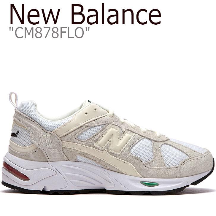 ニューバランス 878 スニーカー New Balance メンズ レディース CM 878 FLO New Balance878 BEIGE ベージュ CM878FLO FLNB9F3U90 NBPD9B723A シューズ 【中古】未使用品