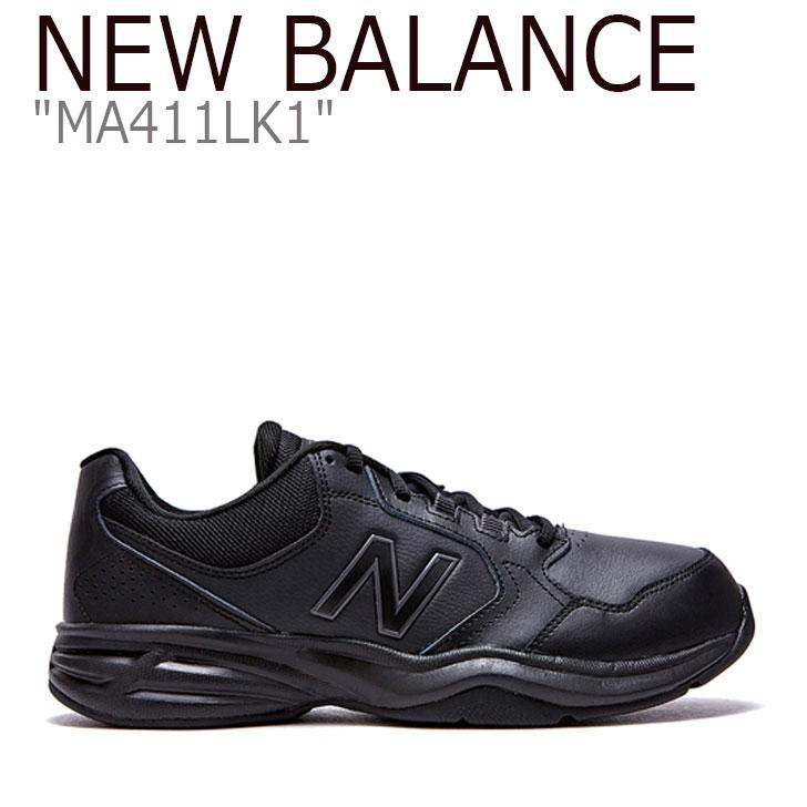 ニューバランス 411 スニーカー New Balance メンズ MA 411 LK1 New Balance411 BLACK ブラック MA411LK1 FLNB9F4M03 シューズ 【中古】未使用品