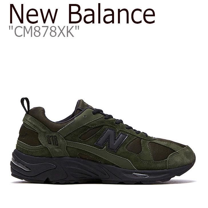 ニューバランス 878 スニーカー New Balance メンズ CM 878 XK New Balance878 KHAKI カーキ CM878XK NBPD9F005E シューズ 【中古】未使用品