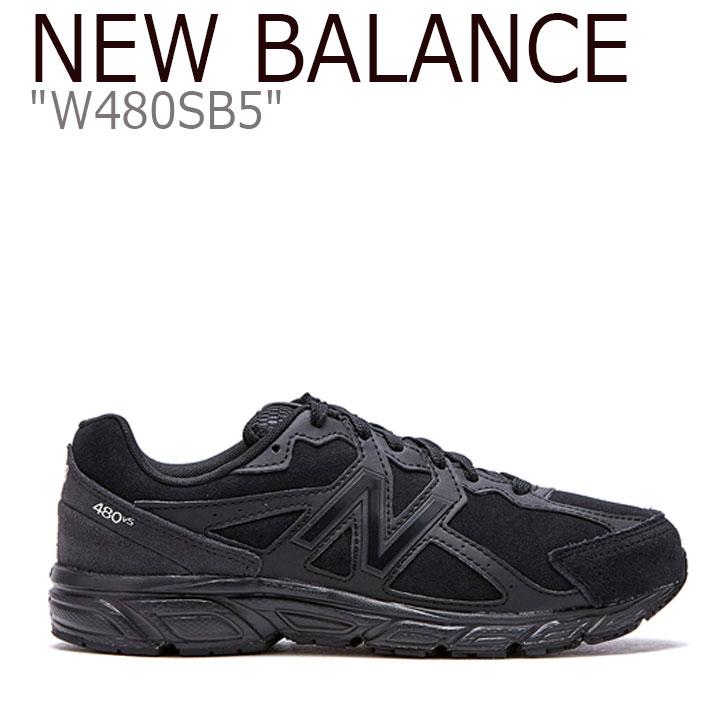 ニューバランス 480 スニーカー New Balance メンズ レディース W 480 SB5 New Balance480 BLACK ブラック W480SB5 FLNB9F4U13 シューズ 【中古】未使用品