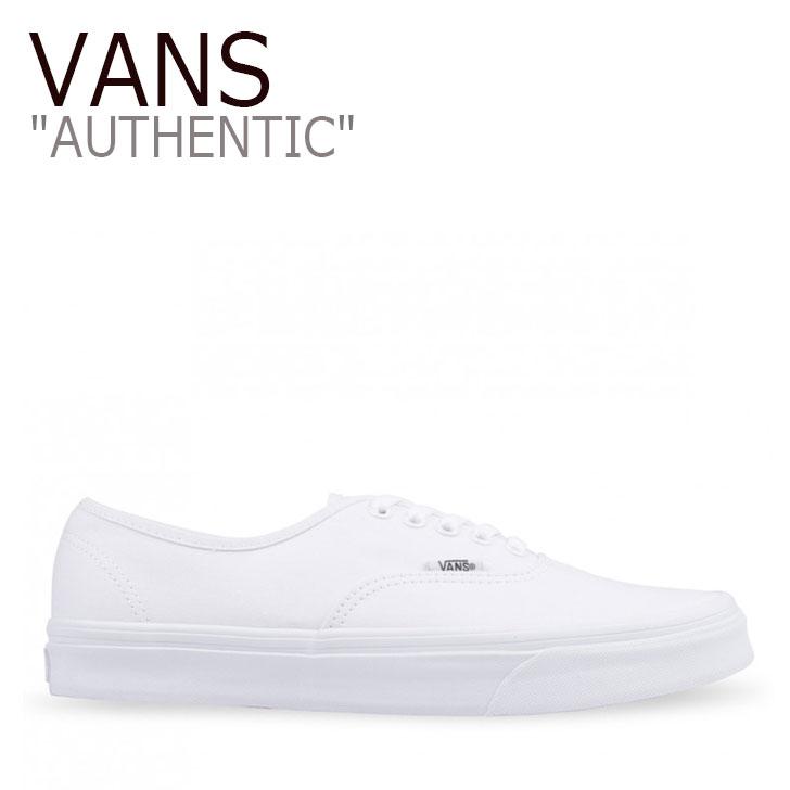 バンズ オーセンティック スニーカー VANS AUTHENTIC オーセンティック TRUE WHITE トゥルーホワイト VN-0EE3W00 シューズ