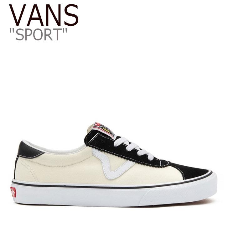 バンズ スニーカー VANS メンズ レディース SPORT スポーツ BLACK CLASSIC WHITE ブラック ホワイト VN0A4BU6TYQ シューズ