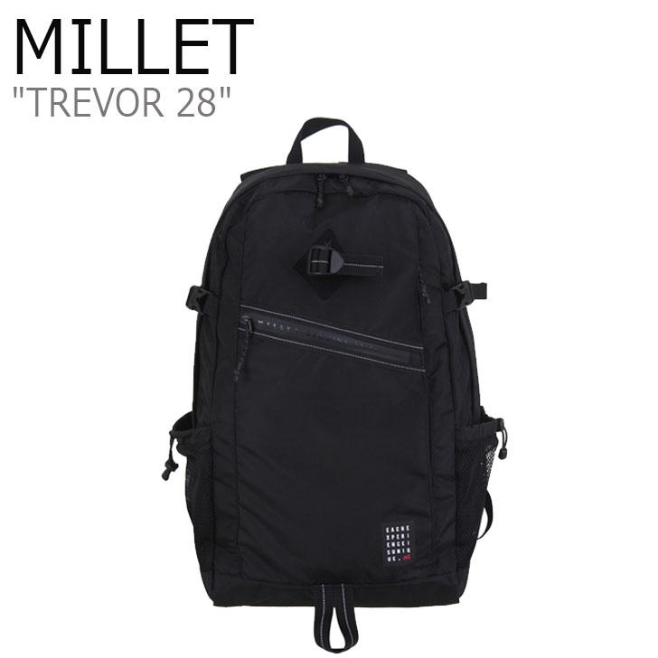 ミレー リュックサック MILLET メンズ レディース TREVOR 28 トレバー 28 BLACK ブラック MBOSK901 バッグ