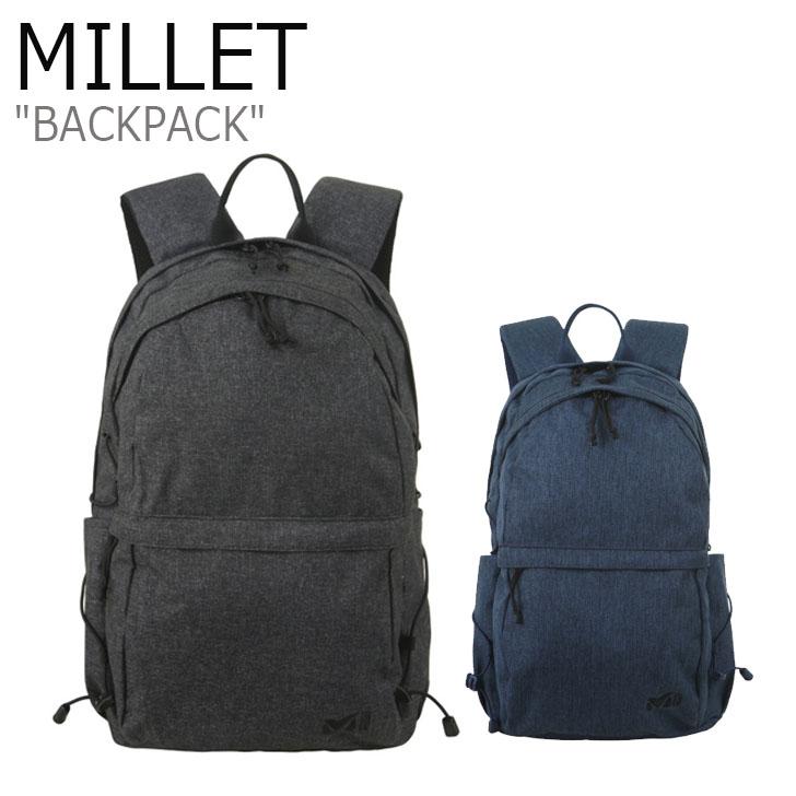 ミレー リュックサック MILLET メンズ レディース BAG PACK ミニムス 15 BLACK BLUE ブラック ブルー MXOSK903 バッグ