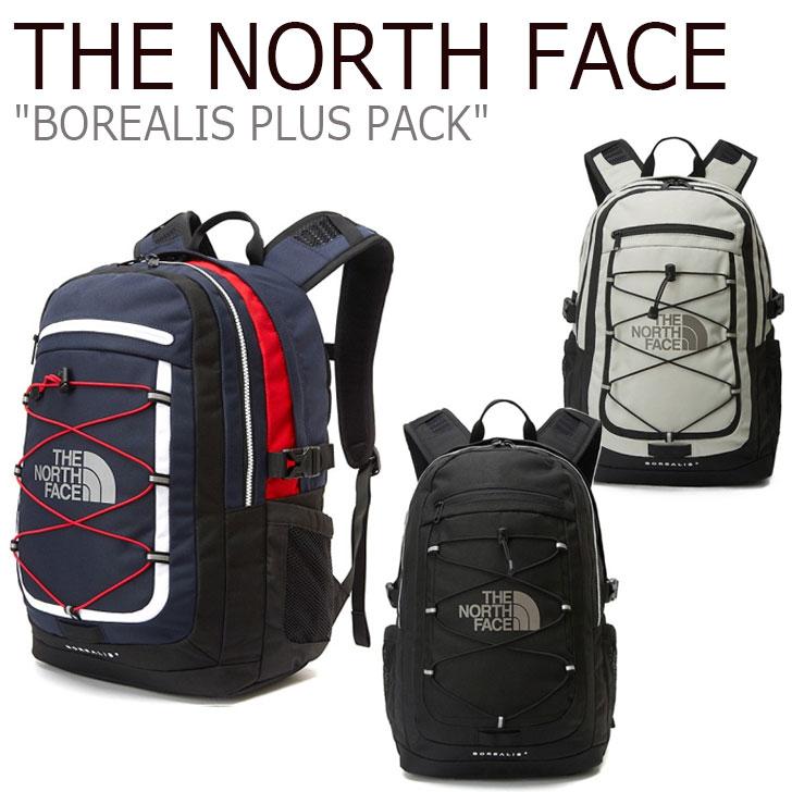 ノースフェイス バックパック THE NORTH FACE メンズ レディース BOREALIS PLUS PACK ボレアリス プラス パック BLACK ブラック NAVY ネイビー IVORY アイボリー NM2DL02J/K/L バッグ 【中古】未使用品