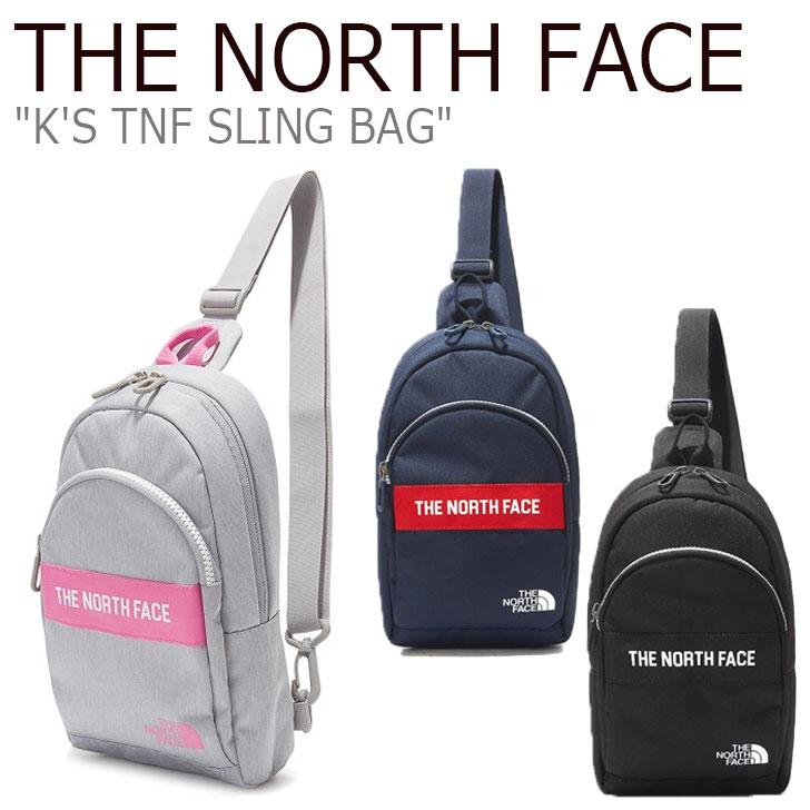 ノースフェイス ボディーバッグ THE NORTH FACE メンズ レディース K'S TNF SLING BAG スリングバッグ 全3色 NN2PL06R/S/T バッグ 【中古】未使用品